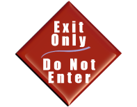 image of do not enter sign