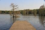 image of lake atkins deck