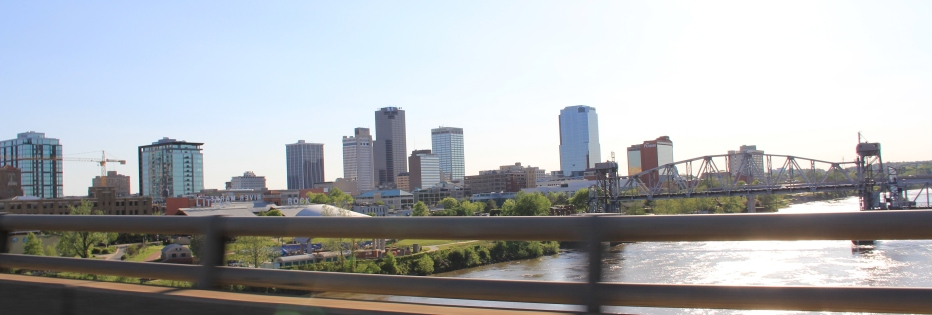 image of downtown little rock