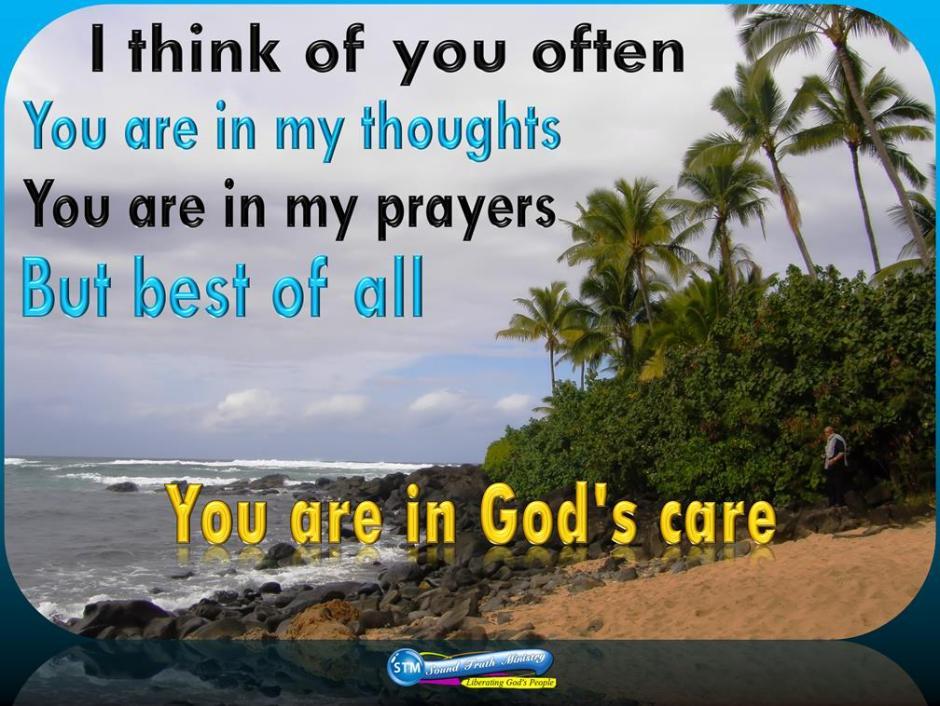 picture for god's care - waimea bay beach