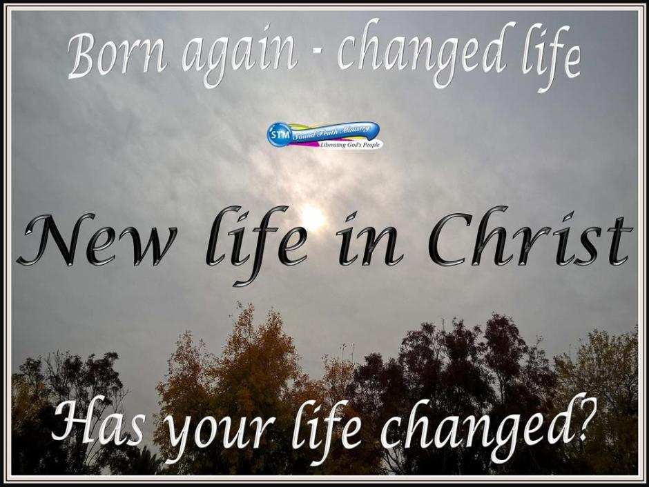picture for a new life in christ