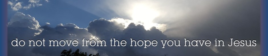 picture rays of sunlight on cloudy day for faith hope bible study