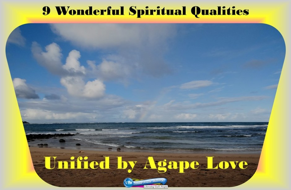 picture of rainbowed day at the beach for agape love